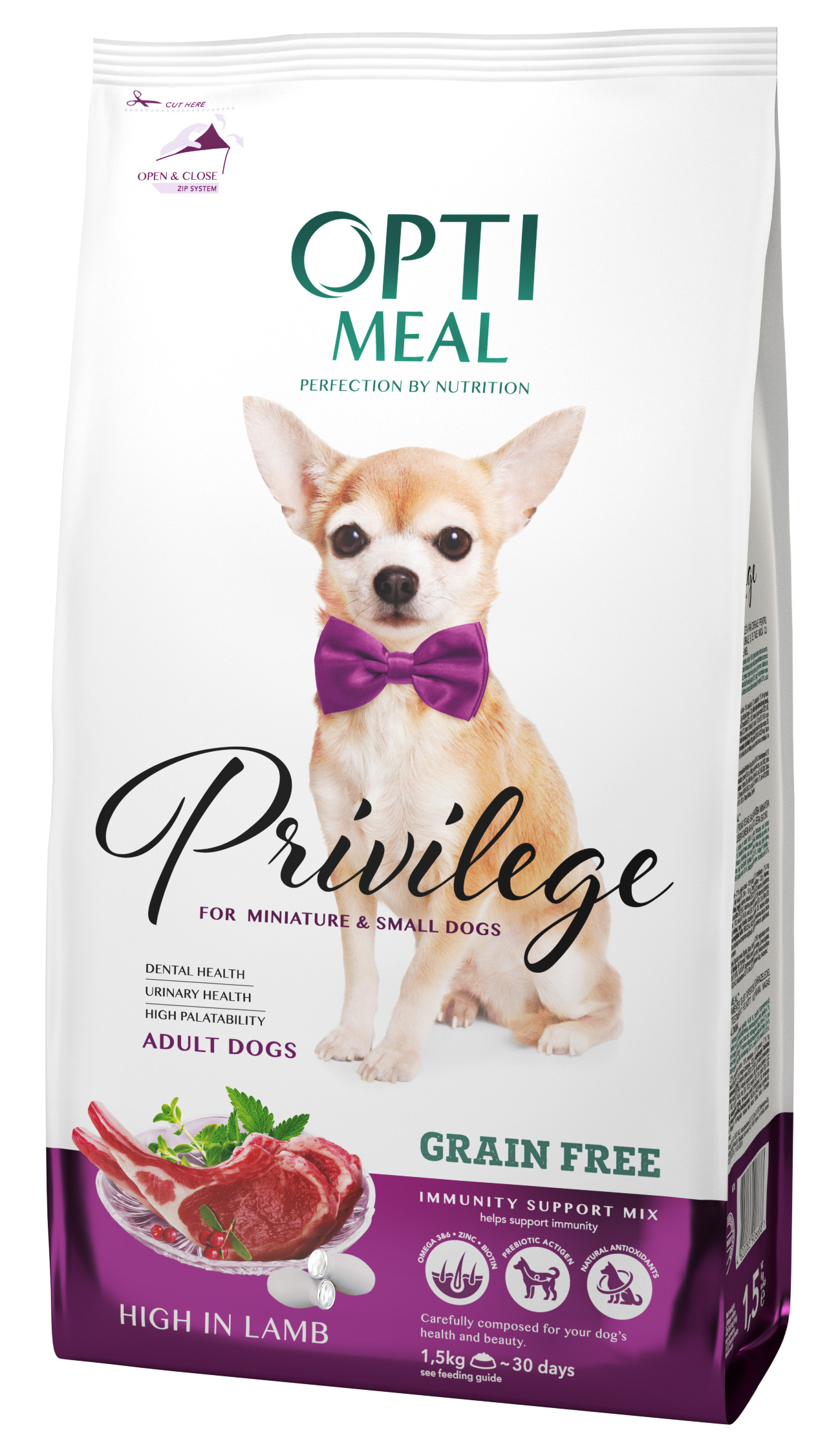 New product. OPTIMEAL PRIVILEGE FOR SMALL AND TINY DOGS